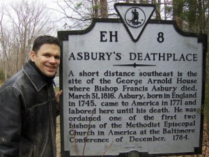 Asbury Historical Marker